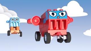 🚁 ЧиЧиЛенд - Будь внимателен! Мультик про машинки и самолетики - Играем с конструктором!