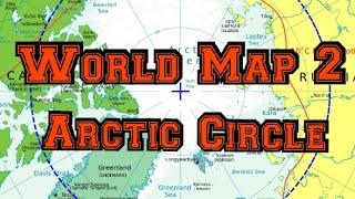 #Worldmap series 2 ; Arctic circle