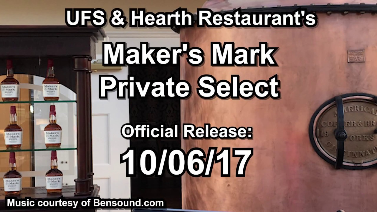 Maker's Mark Private Selection