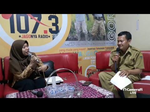 Cianjur fm's broadcast kepala BPJS Bersama ibu karlina