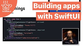 Building apps with SwiftUI, Jeroen Zonneveld (English)