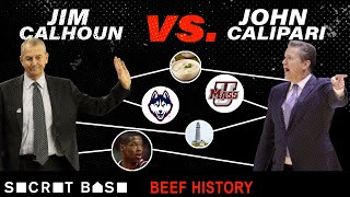 Calipari's beef with Calhoun was three decades of pettiness, stolen recruits, and trash talk thumbnail