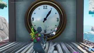 """How To """"Visit Different Clocks"""" Fortnite Challenge Guide ALL Locations Week 8"""