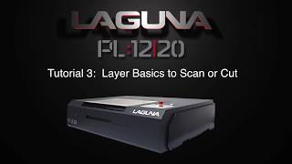 RDworks Tutorial 3 Layer Basics To Scan or Cut for PL:12|20 CNC Laser Cutters