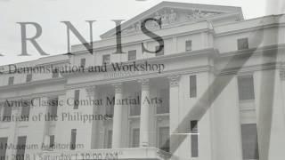 Arnis Demo and Workshop
