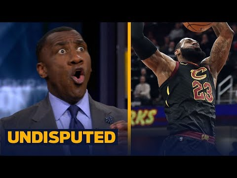 Shannon Sharpe reacts to LeBron's 40-pt triple-double night in win over Milwaukee   UNDISPUTED