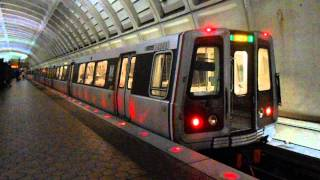 DC Metro (WMATA): Branch Avenue bound Green line train at Georgia Ave-Petworth