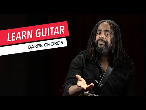 Beginner Guitar Lessons: How to Play Barre Chords | Guitar | Lesson | Beginner