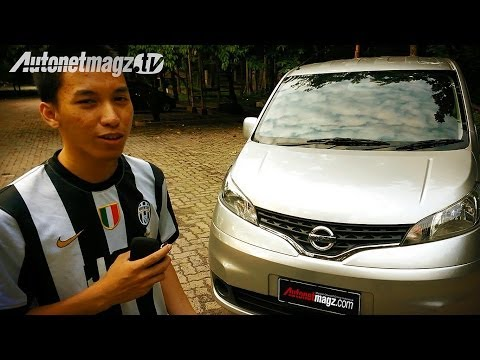 Review Nissan Evalia tipe SV MT Indonesia Test Drive by AutonetMagz