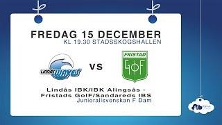 DJ17: Lindås IBK/IBK Alingsås – Fristads GoIF/Sandareds IBS