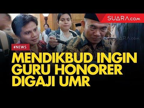 Mendikbud Ingin Gaji Guru Honorer Setara UMR