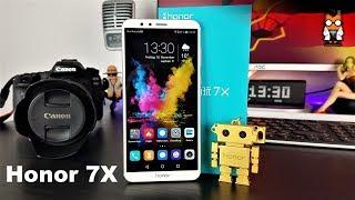 Honor 7X im Test - Dualkamera-Smartphone der Mittelklasse im 18:9-Format [Deutsch - German]