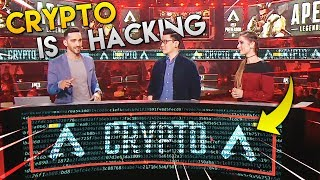 CRYPTO IS HACKING PRO APEX LEAGUE!? - Best Apex Legends Funny Moments and Gameplay Ep 213