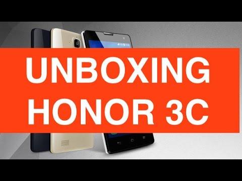 Unboxing Honor 3C versione Europea