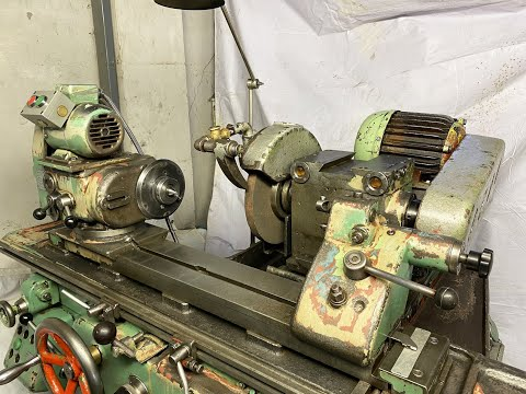 TOS 400 mm Cylindrical Grinder