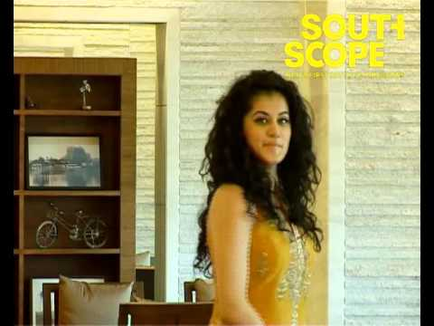 Taapsee Pannu looking dazzling & pretty as ever in the Southscope's 3rd anniversary special issue.