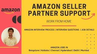 Amazon seller support job   Amazon seller support associate