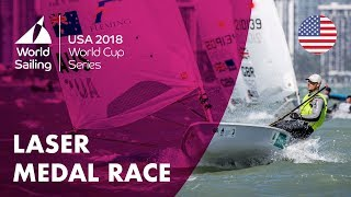 Full Laser Medal Race - Sailing's World Cup Series | Miami, USA 2018