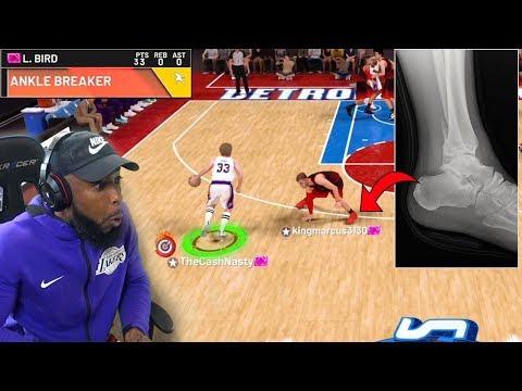 PINK DIAMOND LARRY BIRD BROKE BLAKE GRIFFIN ANKLES! NBA 2k19