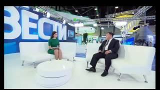 Интервью Президента LeRee Виктора Сюя в программе «Вести. Экономика» на телеканале «Россия 24» 18 июня 2016 года в рамках Санкт-Петербургского Международного Экономического Форума