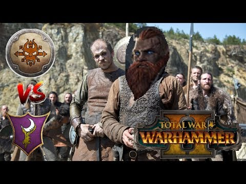 Norsca vs Dark Elves | THE HUNT IS ON - Total War Warhammer 2