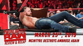 Monday Night RAW Review 3/25/19