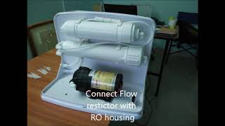 Make your own RO Water Purifier