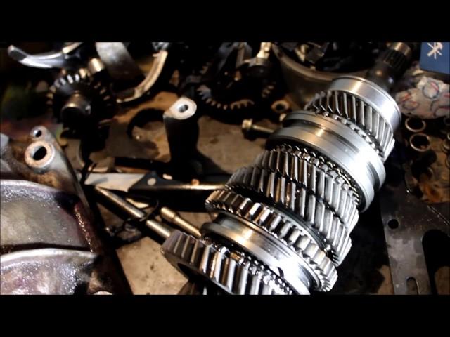 Фото к видео: Ремонт тросовой КПП 2181 ЛАДА Гранта (Часть 2)