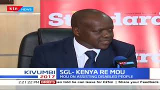 Standard Group Limited and Kenya Re sign a memorandum