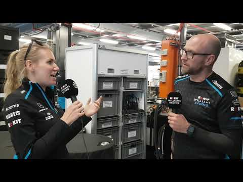 How does the Australian Grand Prix work logistically?