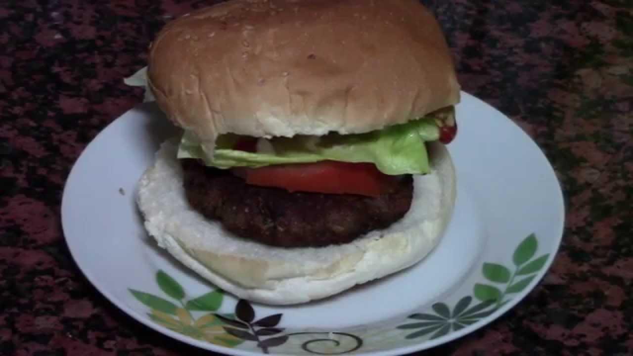 HAMBURGUESA CASERA | recetas de cocina faciles rapidas y economicas de hacer - comidas ricas