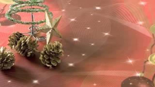 Jolee Tablecloths: Red Christmas Baubles PVC Vinyl Tablecloth