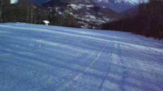 preview picture of video 'Lanzo d'Intelvi, la pista del Boscone'