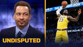 LeBron is undoubtedly strengthening his MVP case — Chris Broussard | NBA | UNDISPUTED