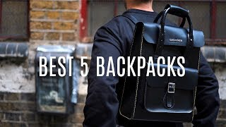 TOP 5 BACKPACKS FOR EVERY OCCASION | Menswear Essentials | Daniel Simmons