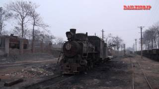 preview picture of video '[0099] Xingyang Brickworks Railways C2 河南省建材廠鉄路でC2発見!'