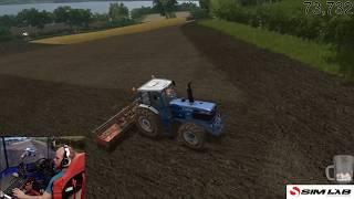 farming simulator 17 / Hillside farm / multiplayer /day 1