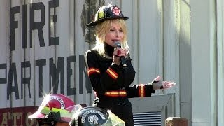 Dolly Parton Opening Firechaser Express at Dollywood