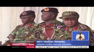 Monday Night NEWS:  Kenya anti terror training partnership kicks off with Jordan's king Abdullah , 2