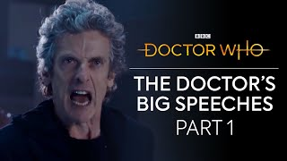 The Doctors Big Speeches: Part 1 | Doctor Who