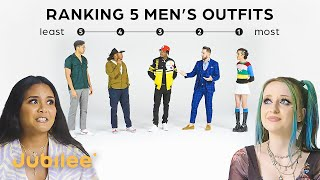 Ranking Men By Fashion | Girls vs Guys