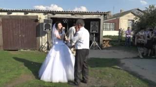 Песня папе на свадьбе)))))