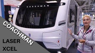 Coachman Laser Xcel 850 and 875 (NEW 8Ft Vans 2020)