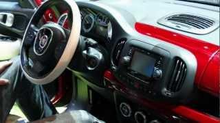 Fiat 500L - Genève 2012