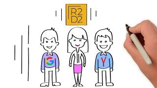 """Рекламный ролик услуги """"Контекстная реклама"""" от  R2D2"""