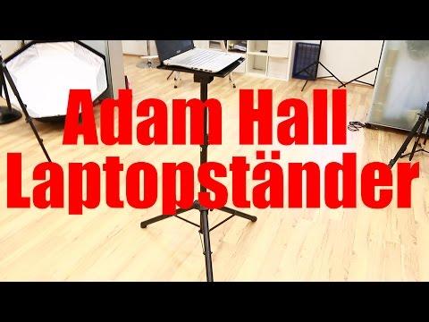 VLOG: Adam Hall Laptopständer / Notebookstativ