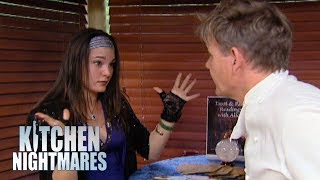 Gordon Visits A Psychic Inside A Restaurant | Kitchen Nightmares