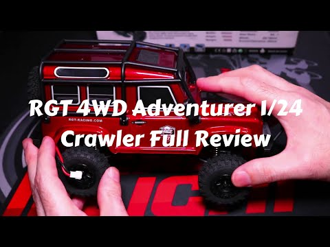 RGT Adventurer 1/24 4WD Crawler V2 Full Review(Banggood)