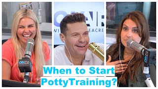 What Is the Right Age to Start Potty Training? | On Air With Ryan Seacrest