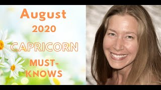 Capricorn August 2020 Astrology (Must-Knows)
